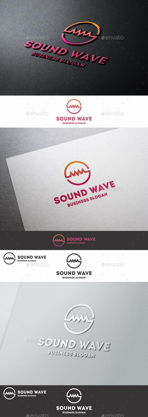 Sound Wave Logo S Letter