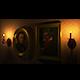 Chandelier and Frames - 3DOcean Item for Sale