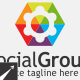 Social Group Logo Template - GraphicRiver Item for Sale