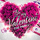 Be My Valentine Flyer Template - GraphicRiver Item for Sale