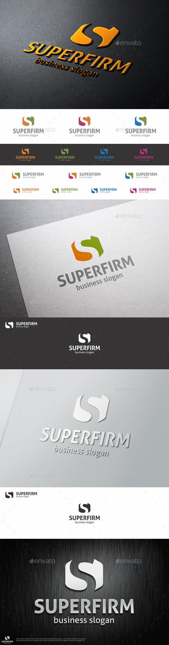 Super Firm - S Logo Letter