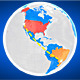Geopolitical World Map - VideoHive Item for Sale