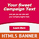 Sweet HTML5 Animated Banner - CodeCanyon Item for Sale
