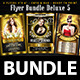 Flyer Bundle Deluxe 5 (Flyer Template 4x6) - GraphicRiver Item for Sale