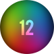 12 Blurred Colored Backgrounds - GraphicRiver Item for Sale
