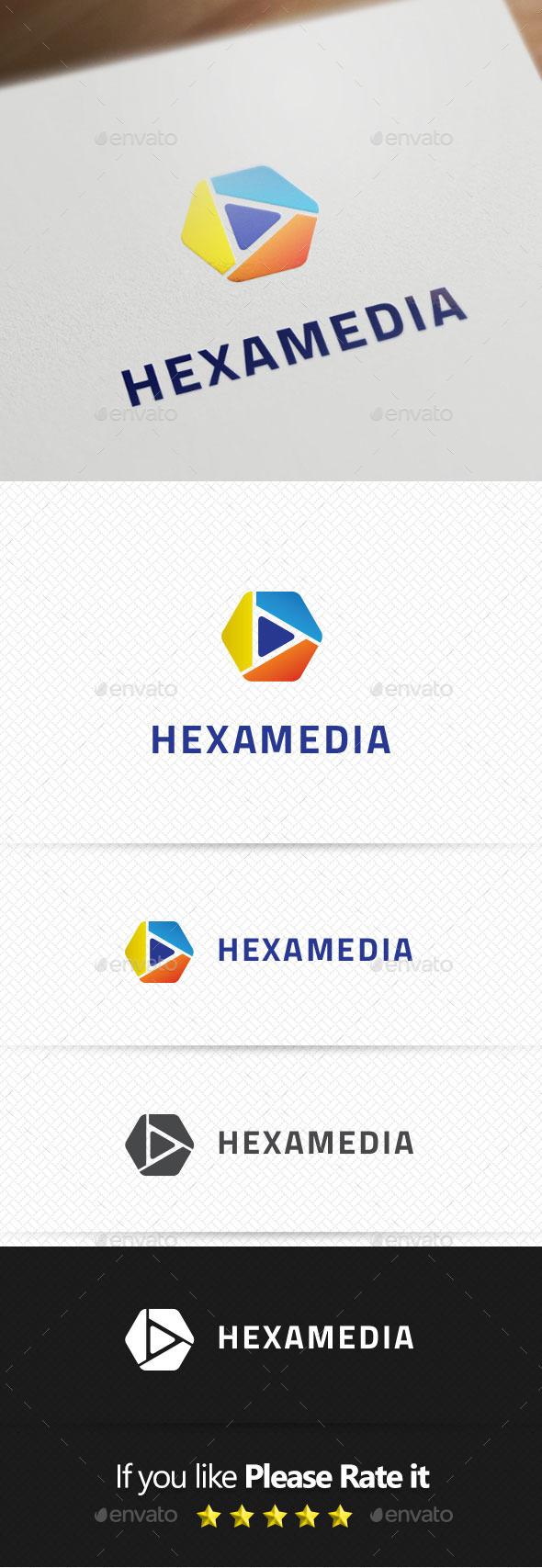 Hexamedia Logo Templates
