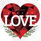 Valentine Party Flyer - Minimal - GraphicRiver Item for Sale
