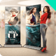 Realistic Banner Roll-up Mock-up - GraphicRiver Item for Sale