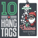 Christmas Sales Related Vintage Hang Tags - GraphicRiver Item for Sale
