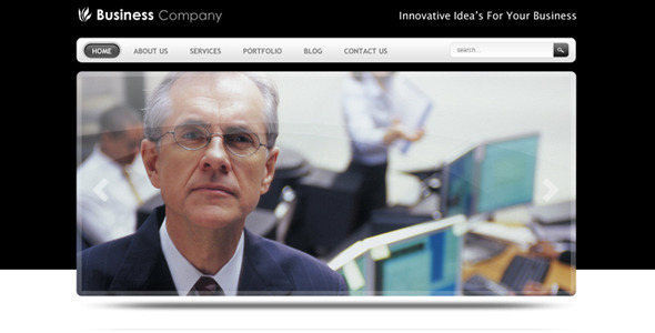 Smart Business Company Drupal 6 Theme