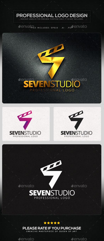 Seven Studio Logo Template