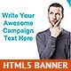 Minimalist HTML5 Animated Banner - CodeCanyon Item for Sale