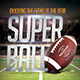 Super Ball Football Flyer - GraphicRiver Item for Sale