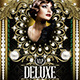 VIP Deluxe (Flyer Template 4x6) - GraphicRiver Item for Sale