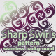 Sharp Swirls Vector Pattern / Seamless Background - GraphicRiver Item for Sale