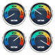 Realistic Rating Dashboard - GraphicRiver Item for Sale