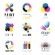 CMYK Emblems - GraphicRiver Item for Sale