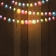 Christmas Lights on Wooden Background - GraphicRiver Item for Sale