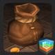 Gold coin bag - 3DOcean Item for Sale