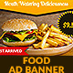Burger Food GWD HTML5 Ad Banner - CodeCanyon Item for Sale