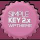 SimpleKey - One Page Portfolio WordPress Theme - ThemeForest Item for Sale