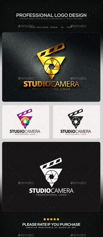Studio Camera Logo Template