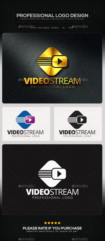 Video Stream Logo Template