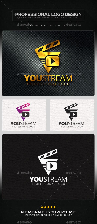 You Stream Logo Template