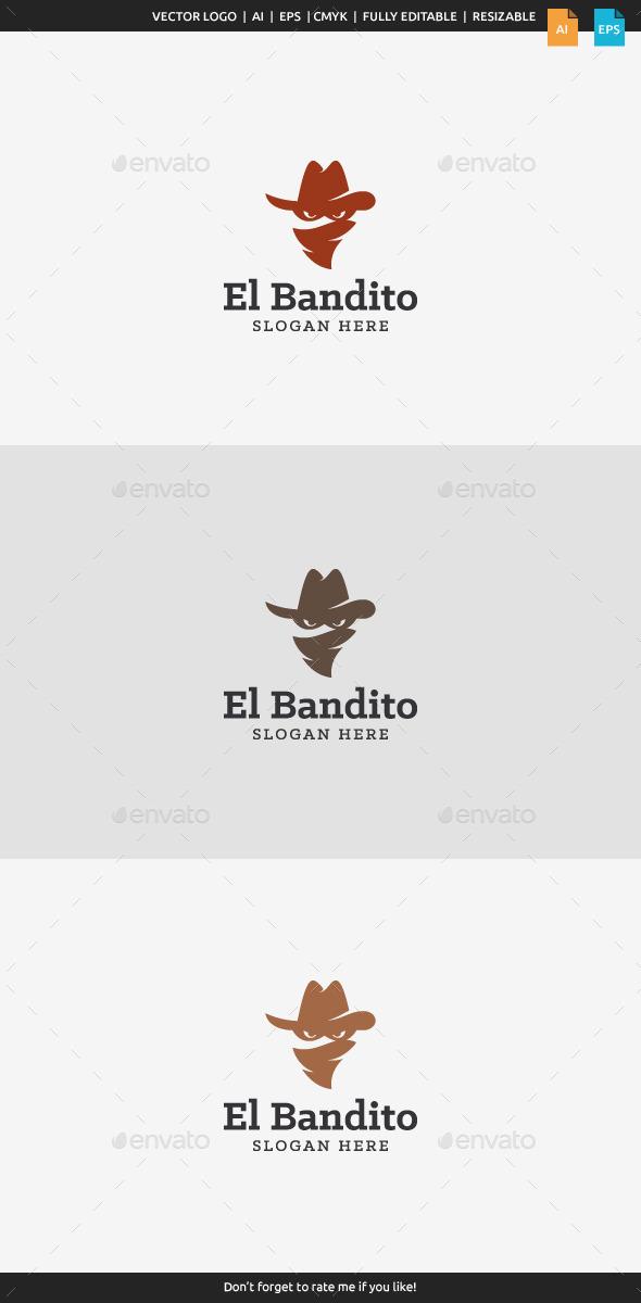 El Bandito - Bandit Logo