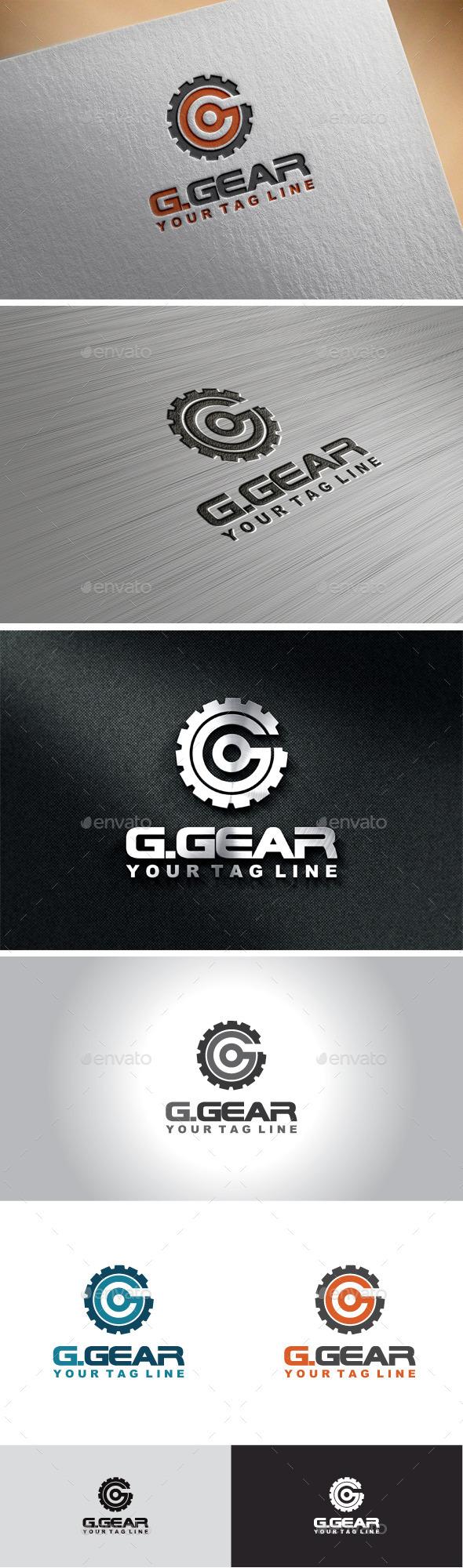 Gear Letter G Logo