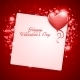 Hearts Frame Valentine's Day Background - GraphicRiver Item for Sale