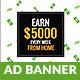 Earn Money Freelancer GWD HTML5 Ad Banner - CodeCanyon Item for Sale