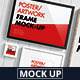 Poster / Artwork Frame Mock-Up - GraphicRiver Item for Sale