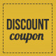 Elegant Discount Coupon - GraphicRiver Item for Sale
