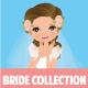 Cute Bride Collection - GraphicRiver Item for Sale