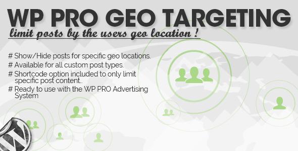 WP Pro Geo Targeting Download