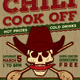 Chili Cook Off Competition Poster, Flyer or Ad - GraphicRiver Item for Sale