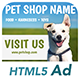 Ad HTML5 Template | Pet Shop - CodeCanyon Item for Sale