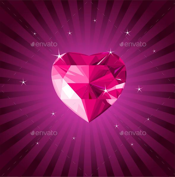 Valentine Crystal Love Heart