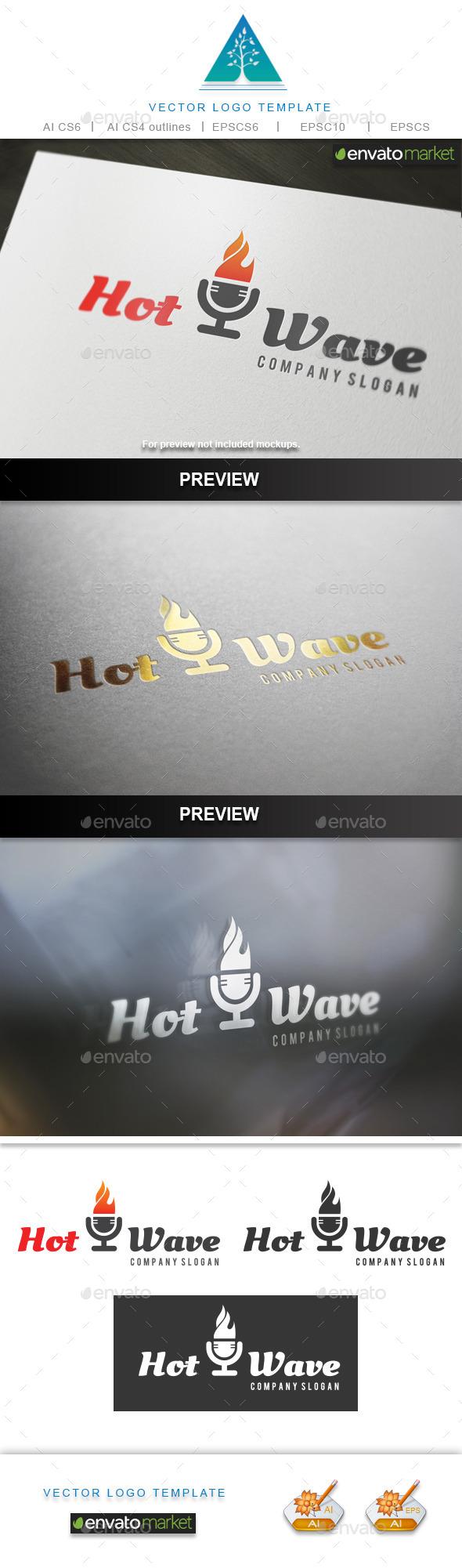 Hot Wave Logo