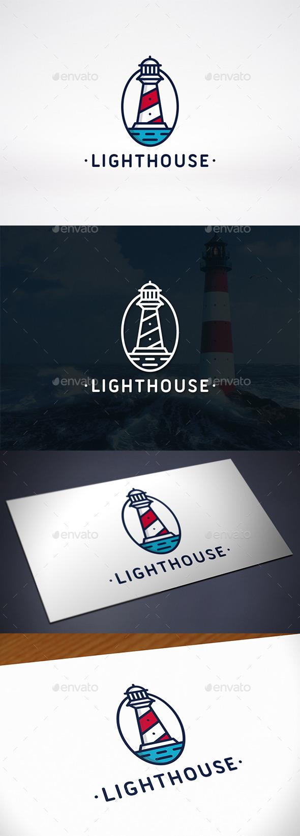 Lighthouse Identity Logo Template