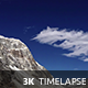 Fast Moving Clouds in Mountains 1 - VideoHive Item for Sale