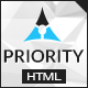 Priority | Multipurpose HTML - ThemeForest Item for Sale