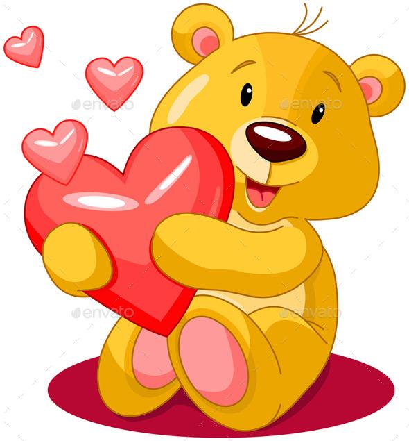 Valentine Day Bear