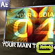 Thunder - AE CS3 Project - VideoHive Item for Sale