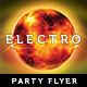 Futuristic Electro Flyer - Burn - GraphicRiver Item for Sale