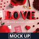 Love Header Mock-Up Creator - GraphicRiver Item for Sale