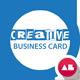 Smart Company Business Card v.2 - GraphicRiver Item for Sale