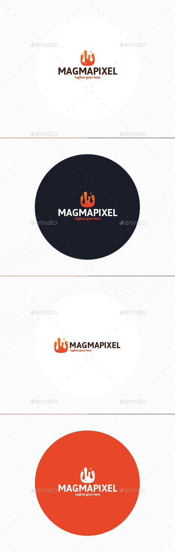 Magma Pixel Logo