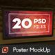 Poster Mock-Up - GraphicRiver Item for Sale